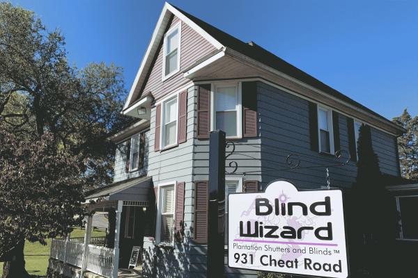 Blind Wizard WV - Hard Window Treatments in Morgantown, West Virginia