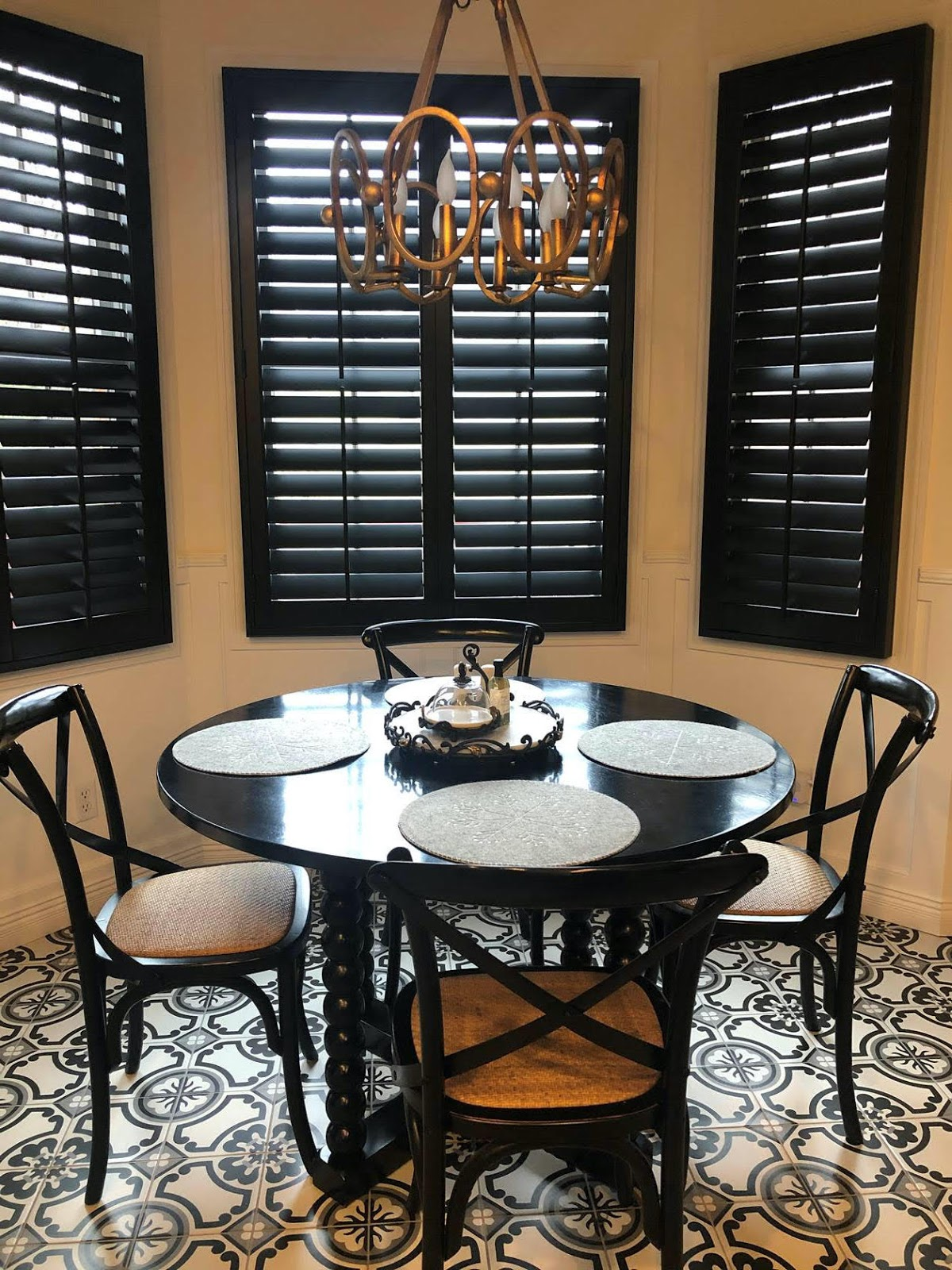 Designer Kitchen in Need of Attention-Grabbing Shutters